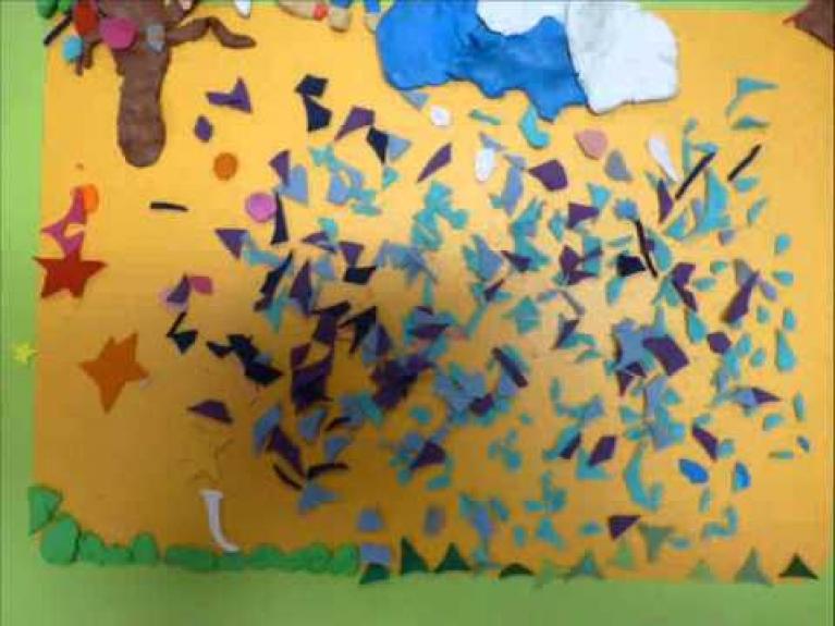 Embedded thumbnail for Kterak zajíček s dětmi zdobil velikonoční strom
